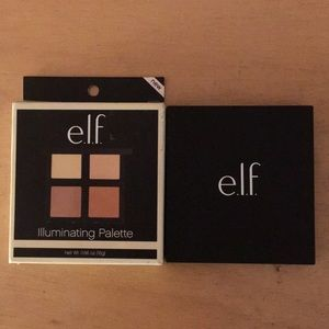 New Elf Illuminating Palette With Mirror 4 Shades